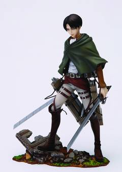ATTACK ON TITAN LEVI BRAVE-ACT PVC FIG