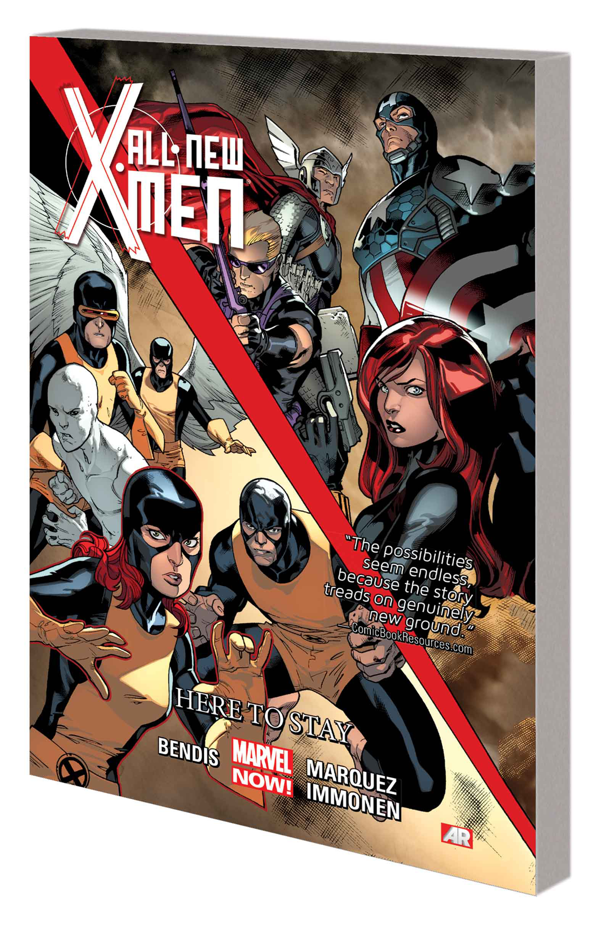 ALL NEW X-MEN TP VOL 02 HERE TO STAY