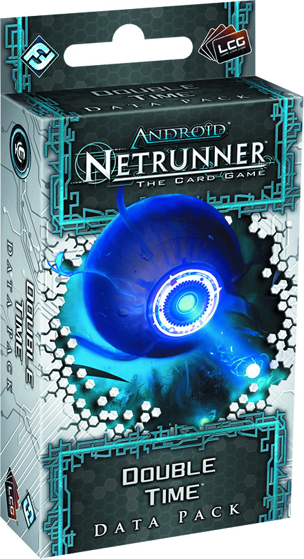 ANDROID NETRUNNER LCG DOUBLE TIME DATA PACK