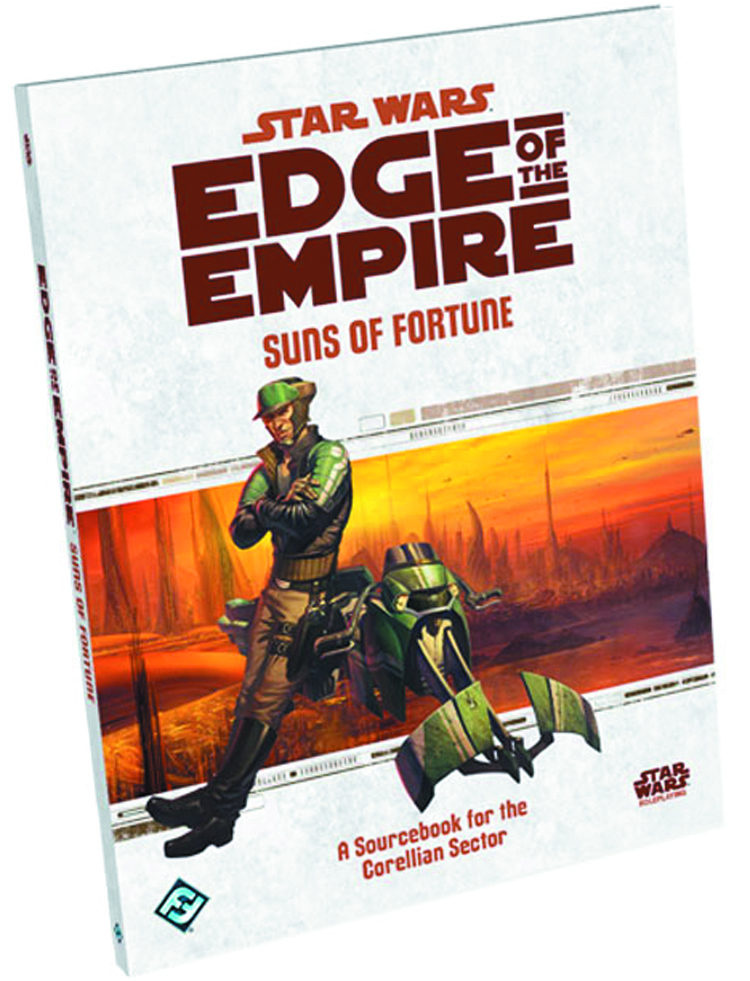 STAR WARS RPG EDGE OF THE EMPIRE SUNS OF FORTUNE BK