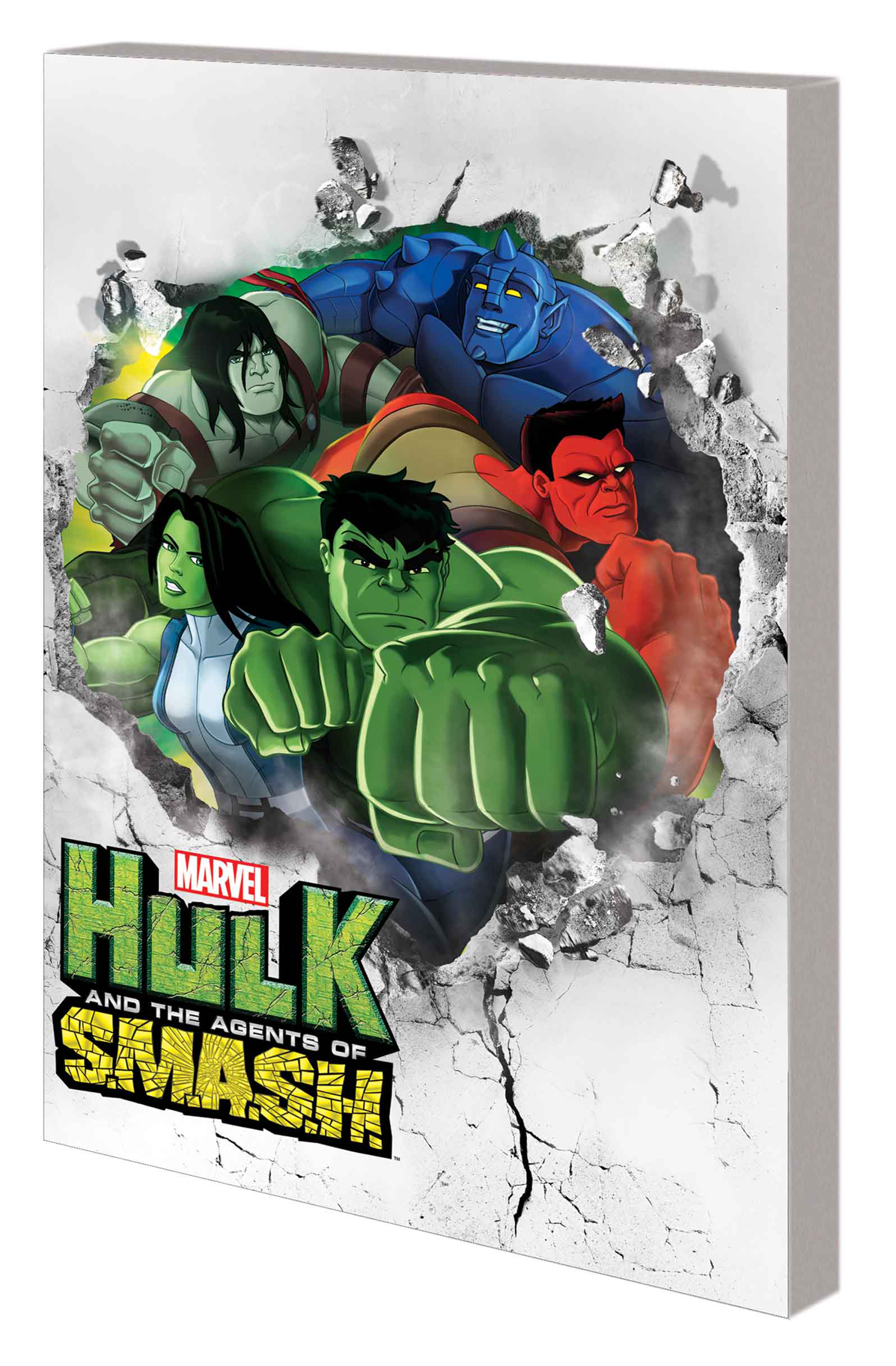 MARVEL UNIVERSE HULK AGENTS OF SMASH DIGEST TP