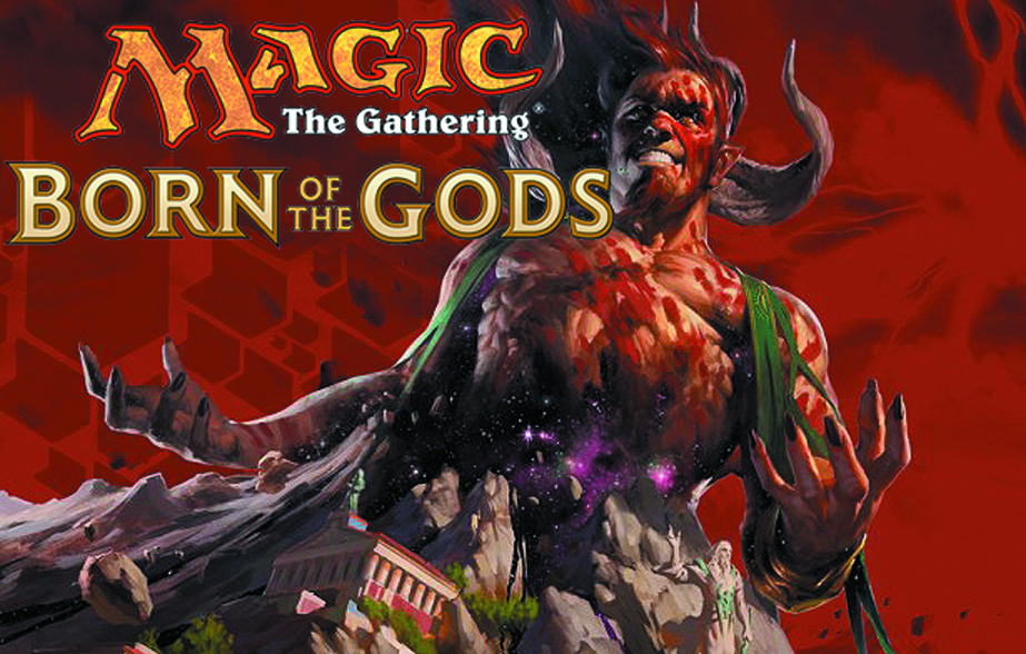 MTG TCG BORN OF THE GODS INTRO DECK DIS