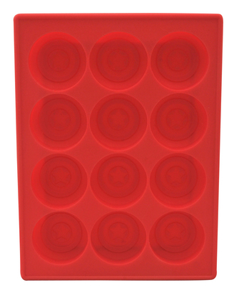 MARVEL CAPTAIN AMERICA SHIELD SILICONE TRAY