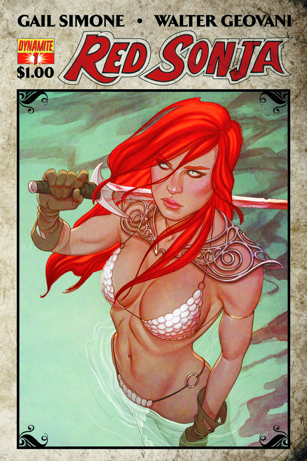 RED SONJA DOLLAR BOOK #1