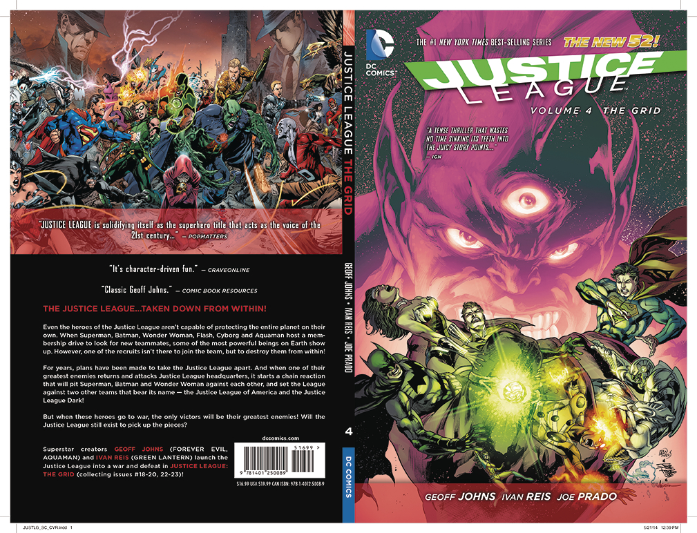 JUSTICE LEAGUE HC VOL 04 THE GRID