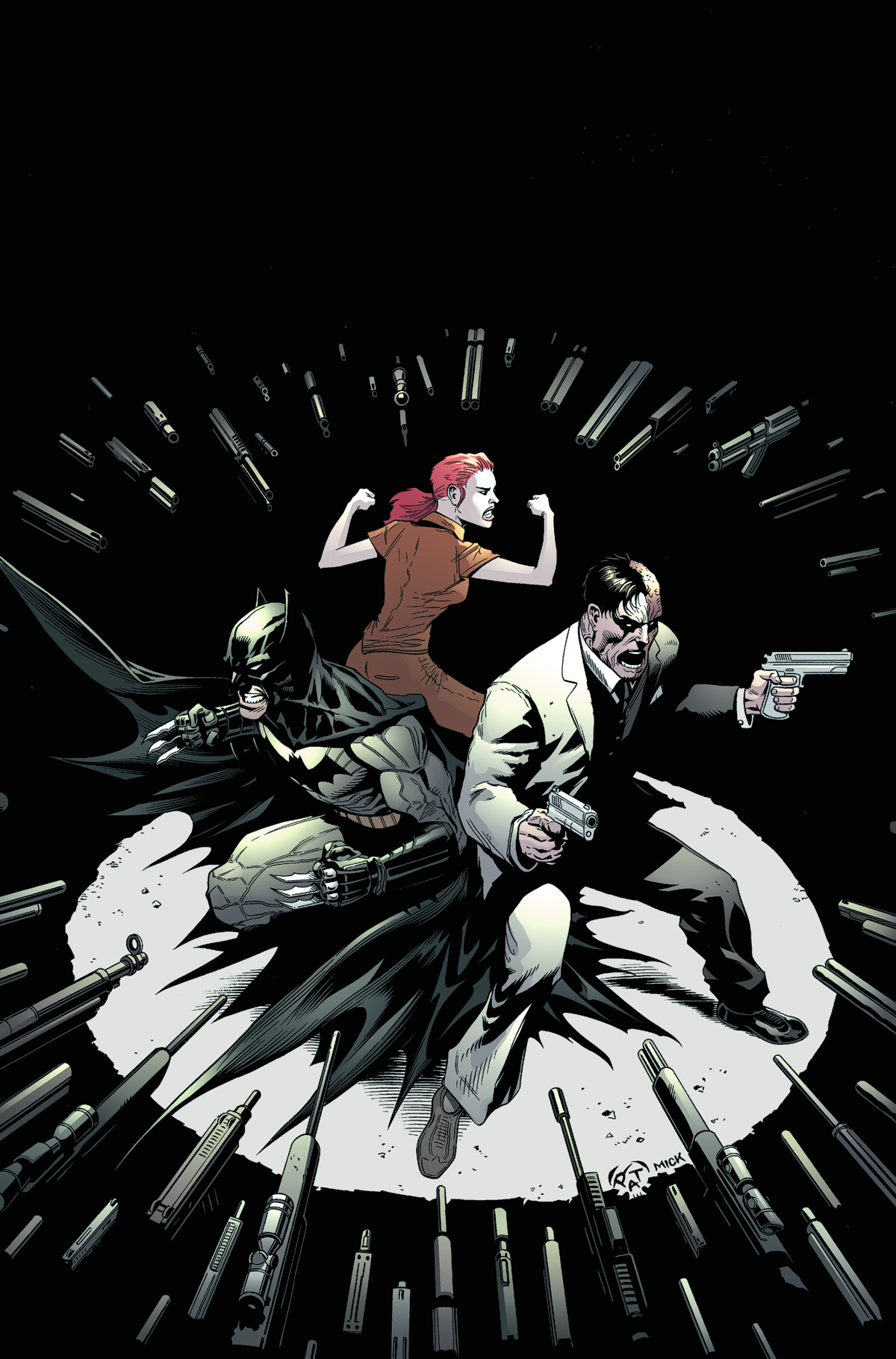 BATMAN AND TWO FACE #28