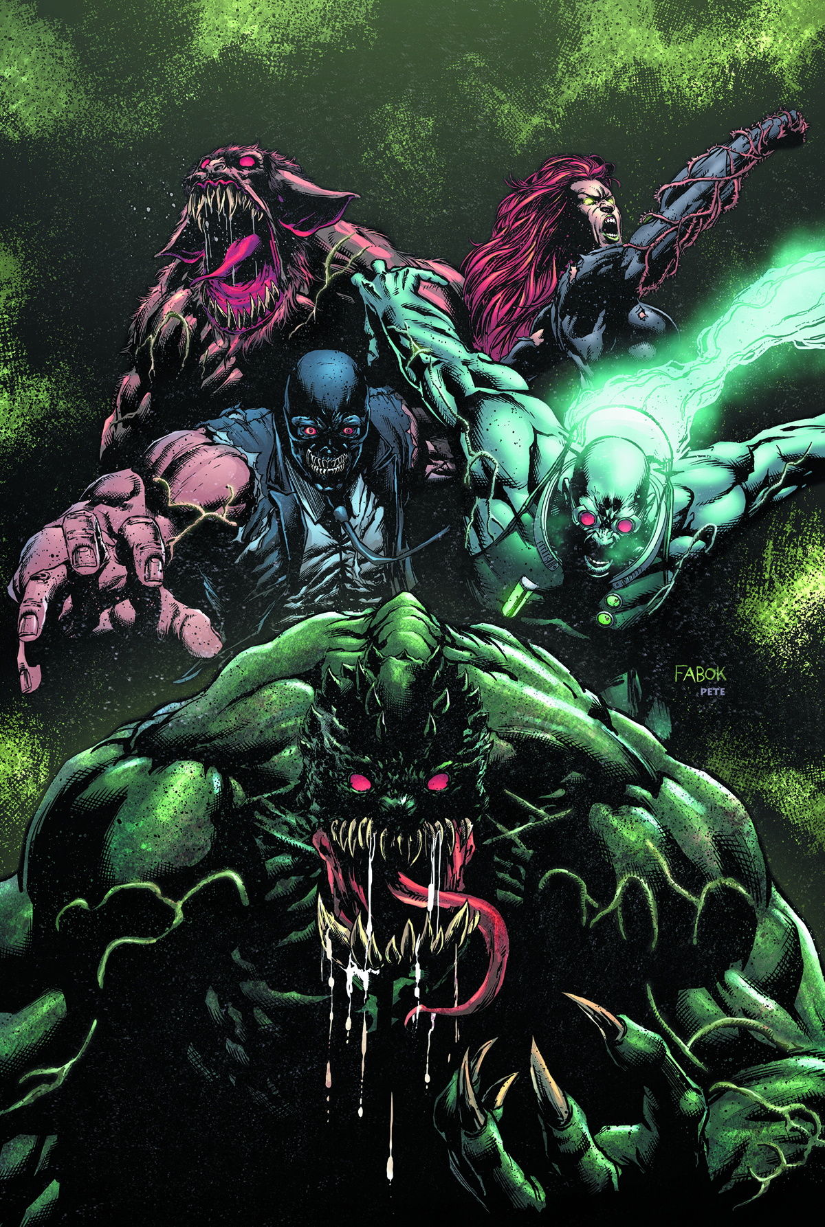 FOREVER EVIL ARKHAM WAR #5 (OF 6)