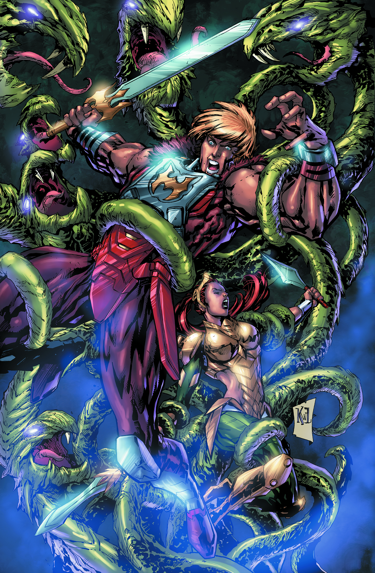 HE MAN AND THE MASTERS OF THE UNIVERSE #11