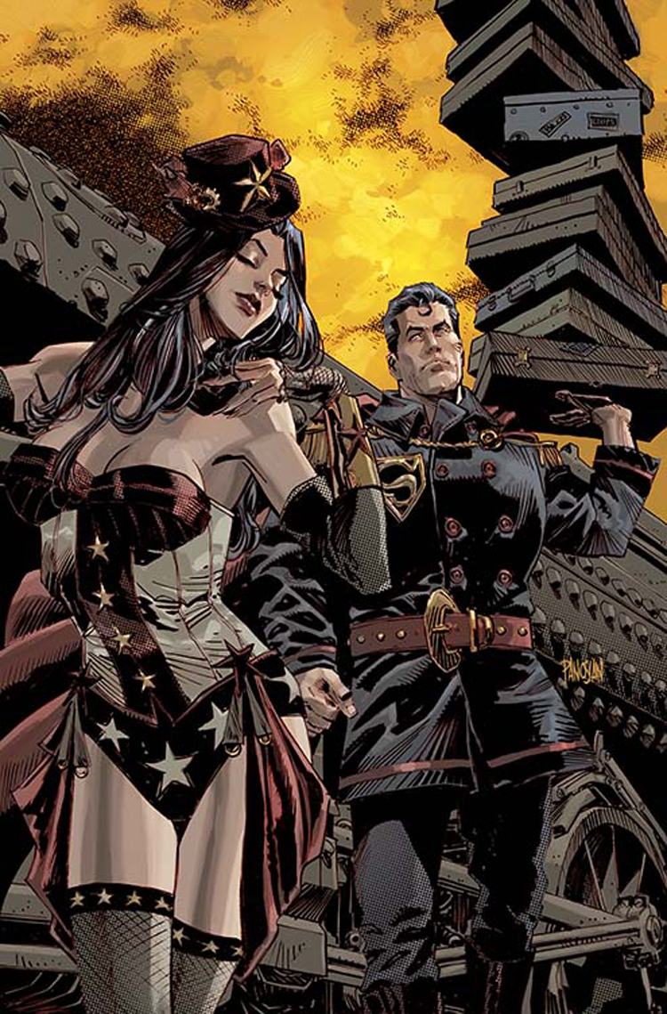 SUPERMAN WONDER WOMAN #5 VAR ED