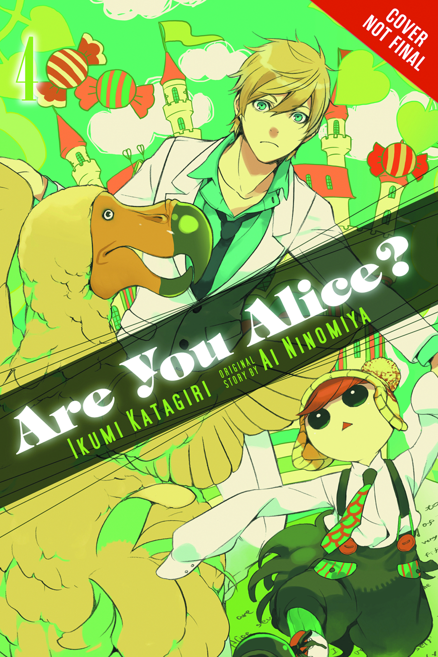 (USE APR179038) ARE YOU ALICE GN VOL 04