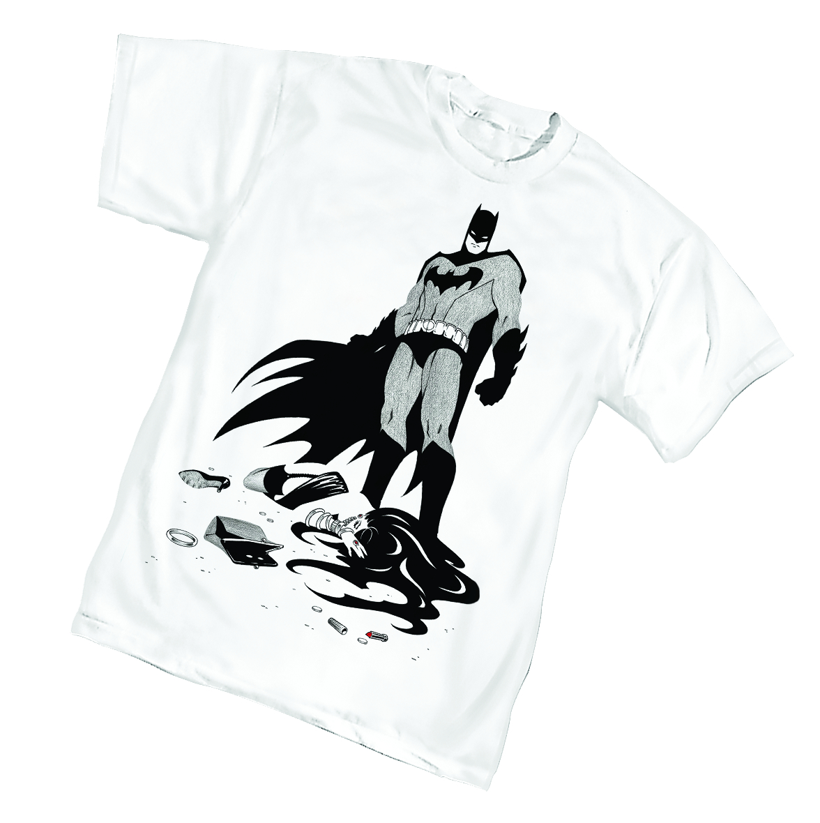 BATMAN VICTIM T/S XXL