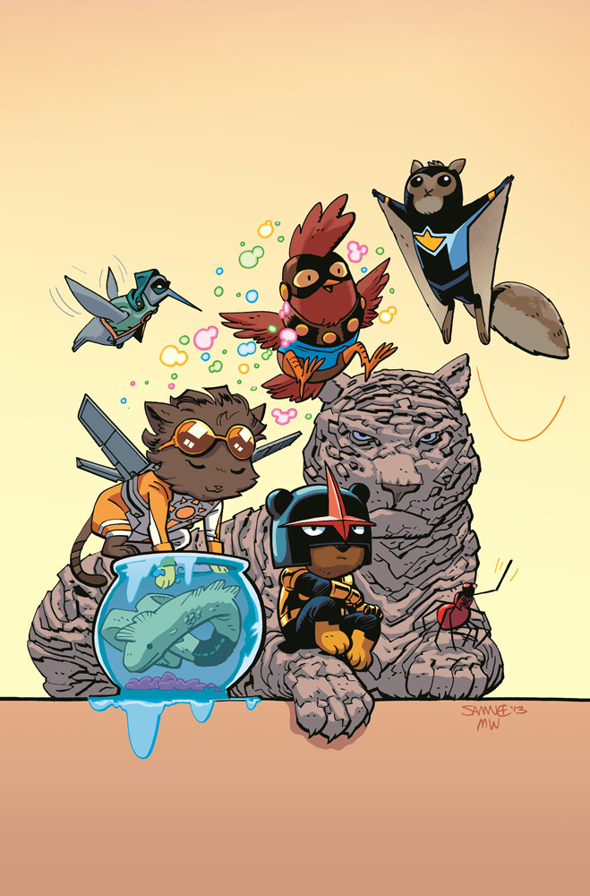 NEW WARRIORS #1 ANIMAL VAR ANMN