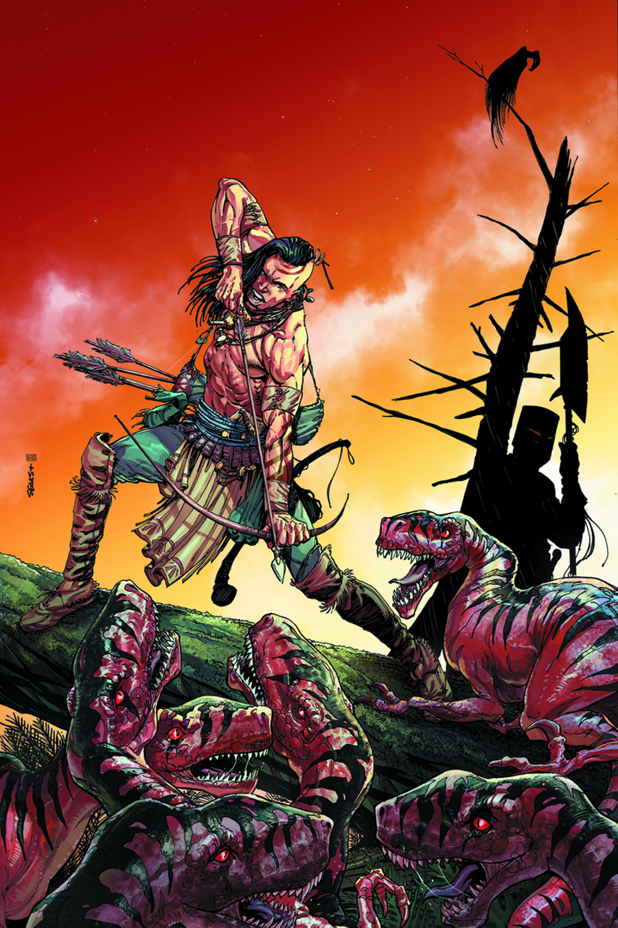 TUROK DINOSAUR HUNTER #1 BLANK AUTHENTIX VAR