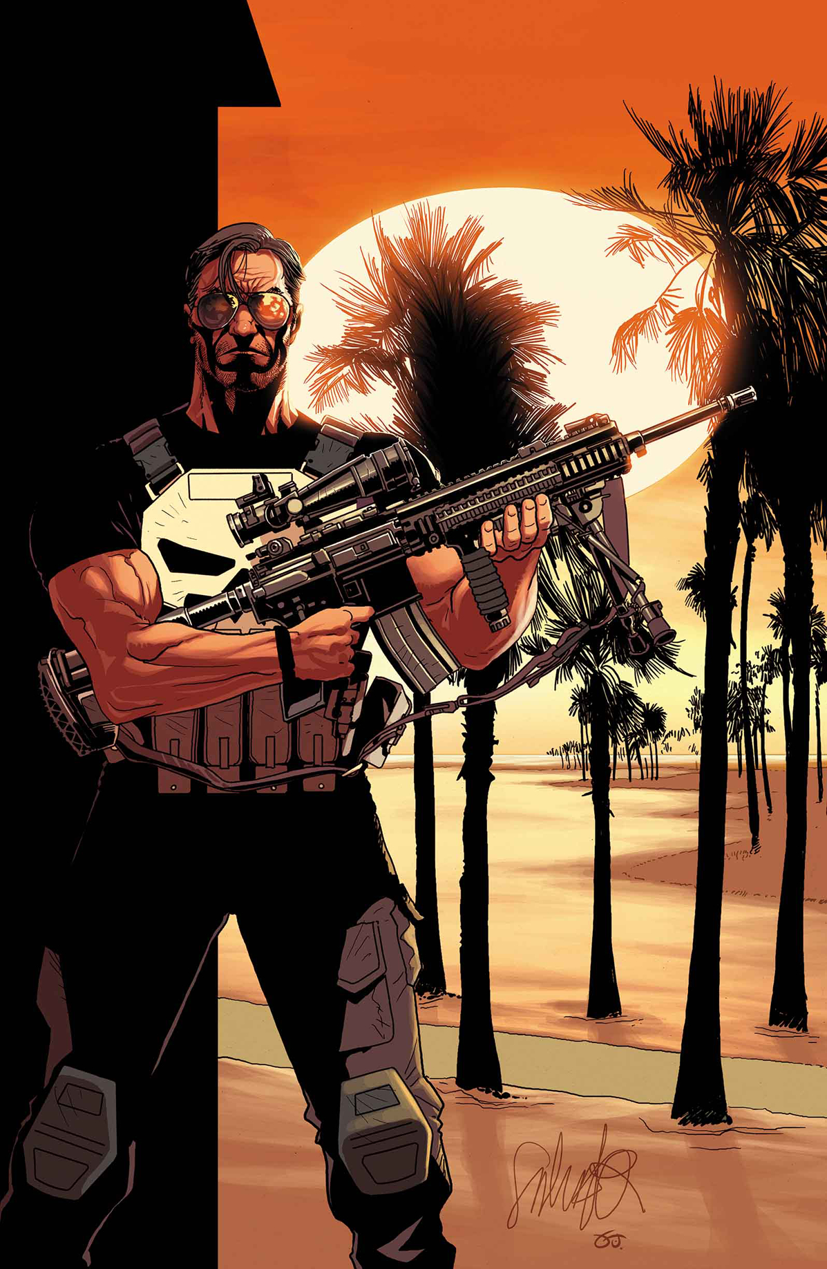 PUNISHER #1 LARROCA VAR ANMN