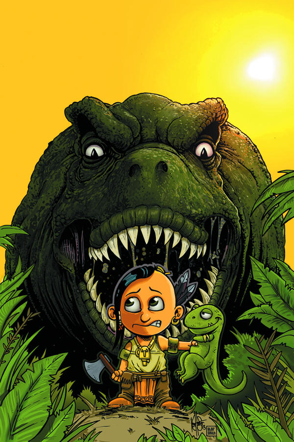 TUROK DINOSAUR HUNTER #1 125 COPY HAESER CUTE INCV