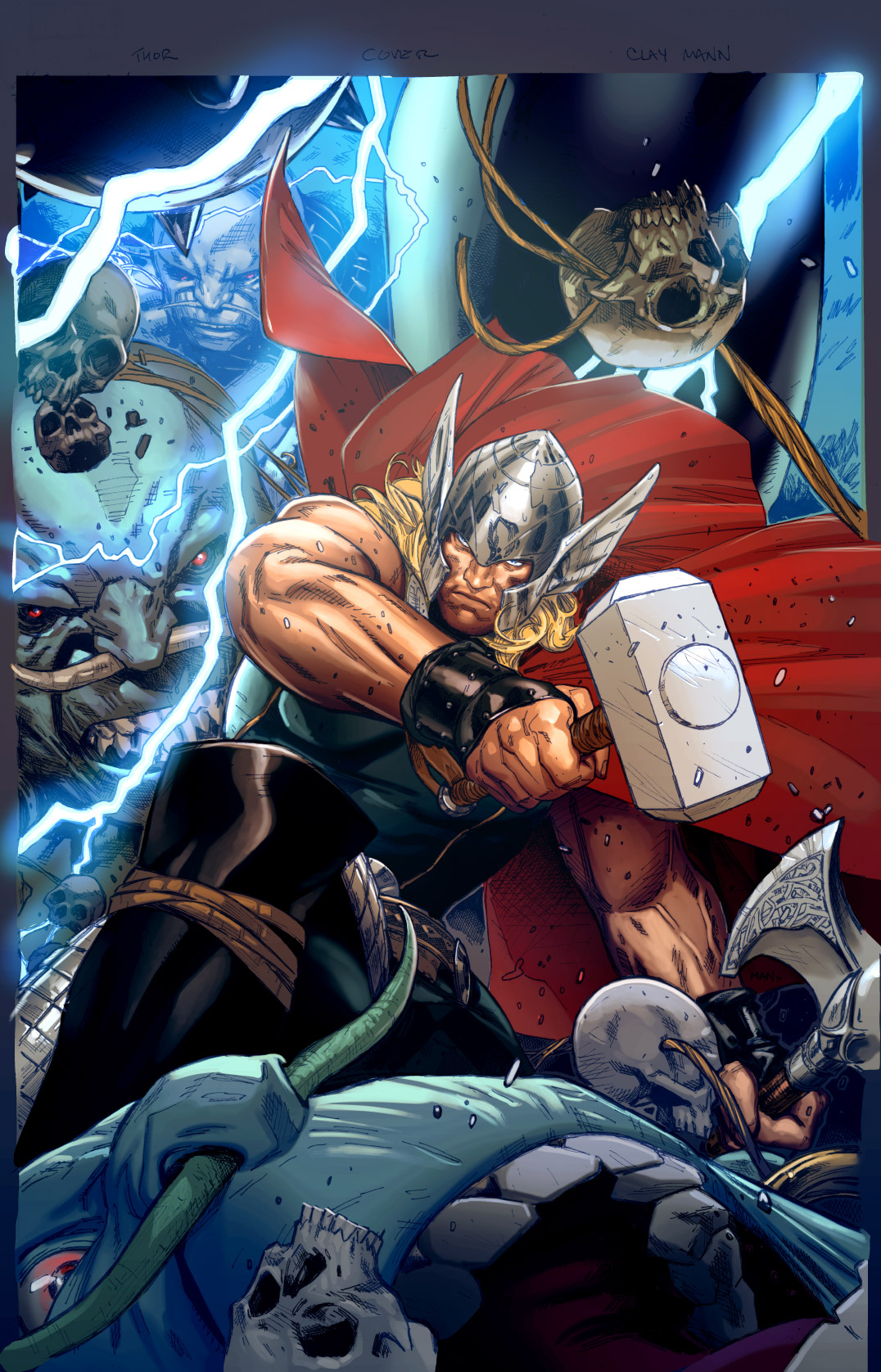 THOR GOD OF THUNDER #19.NOW MANN VAR ANMN