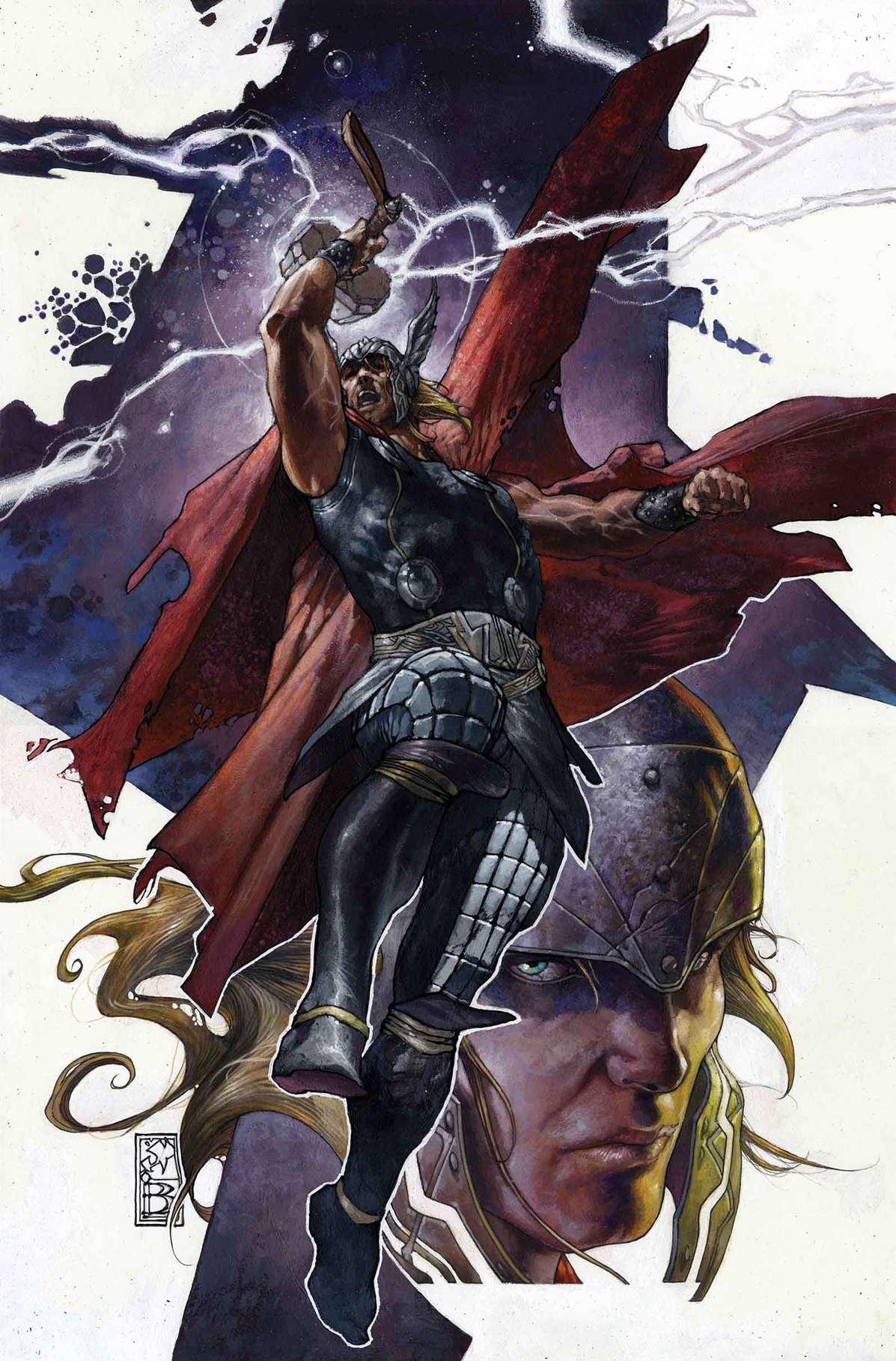 THOR GOD OF THUNDER #19.NOW BIANCHI VAR ANMN