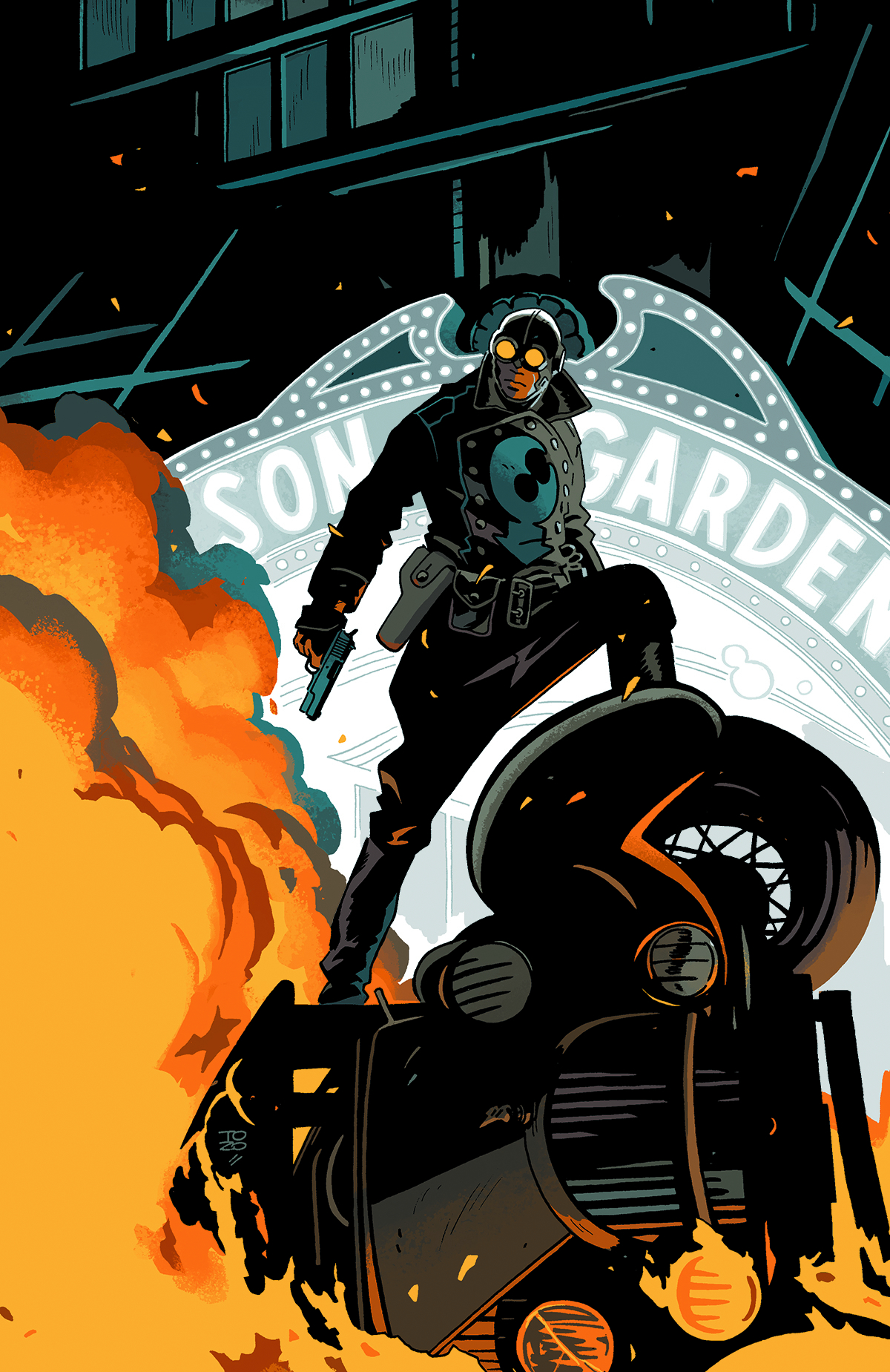 LOBSTER JOHNSON GET LOBSTER #1