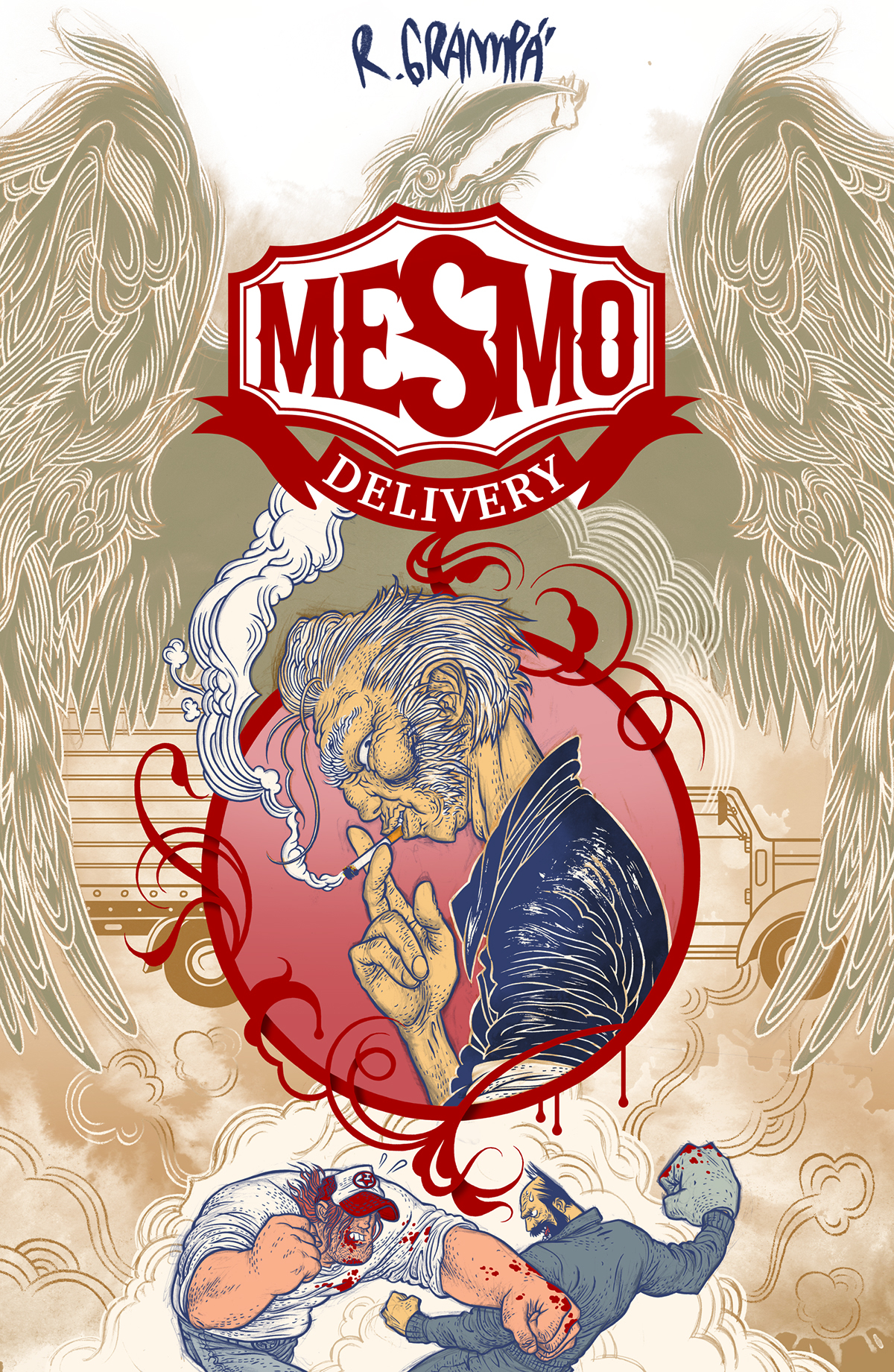 MESMO DELIVERY 2ND EDITION HC