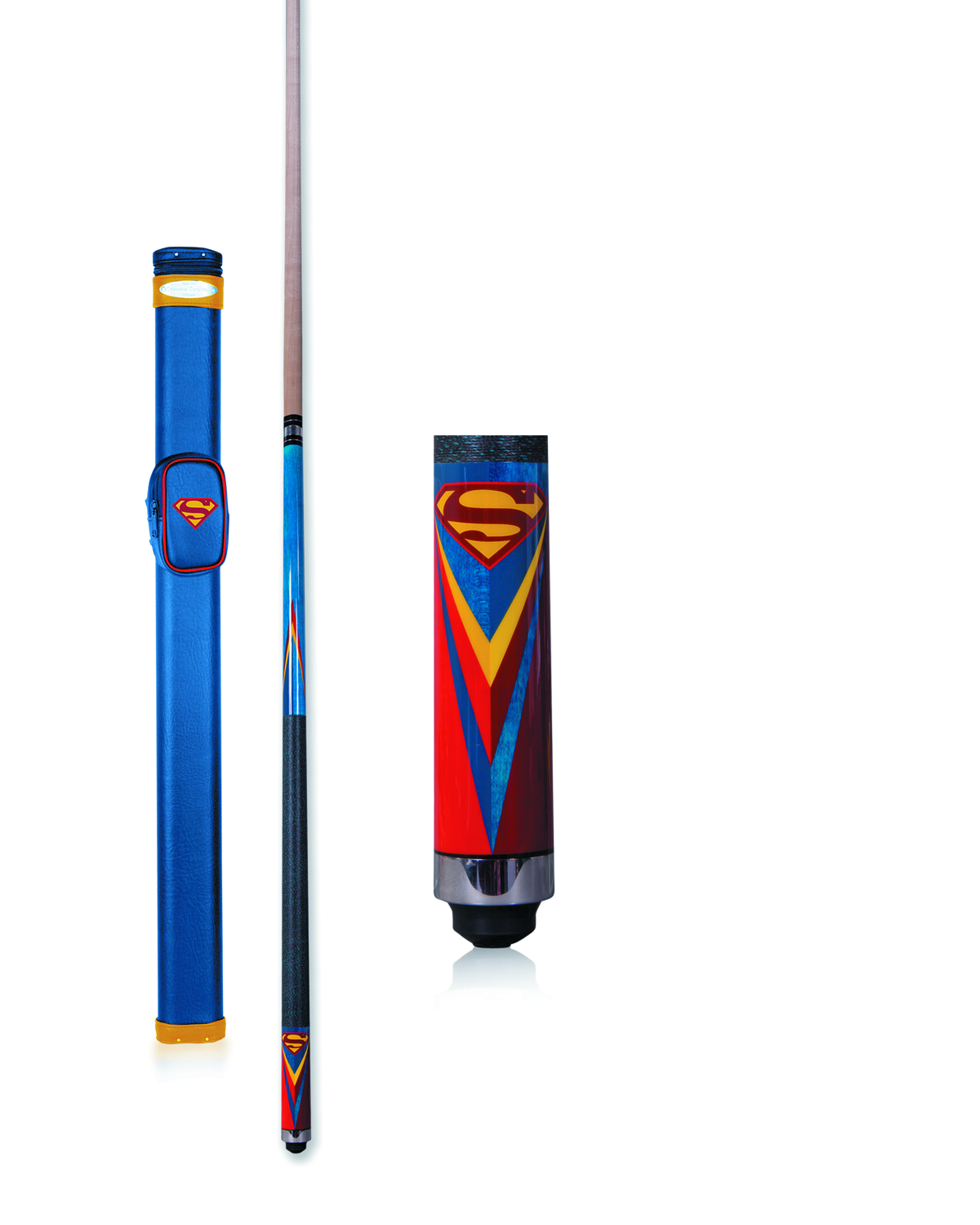 SUPERMAN ICONIC POOL CUE