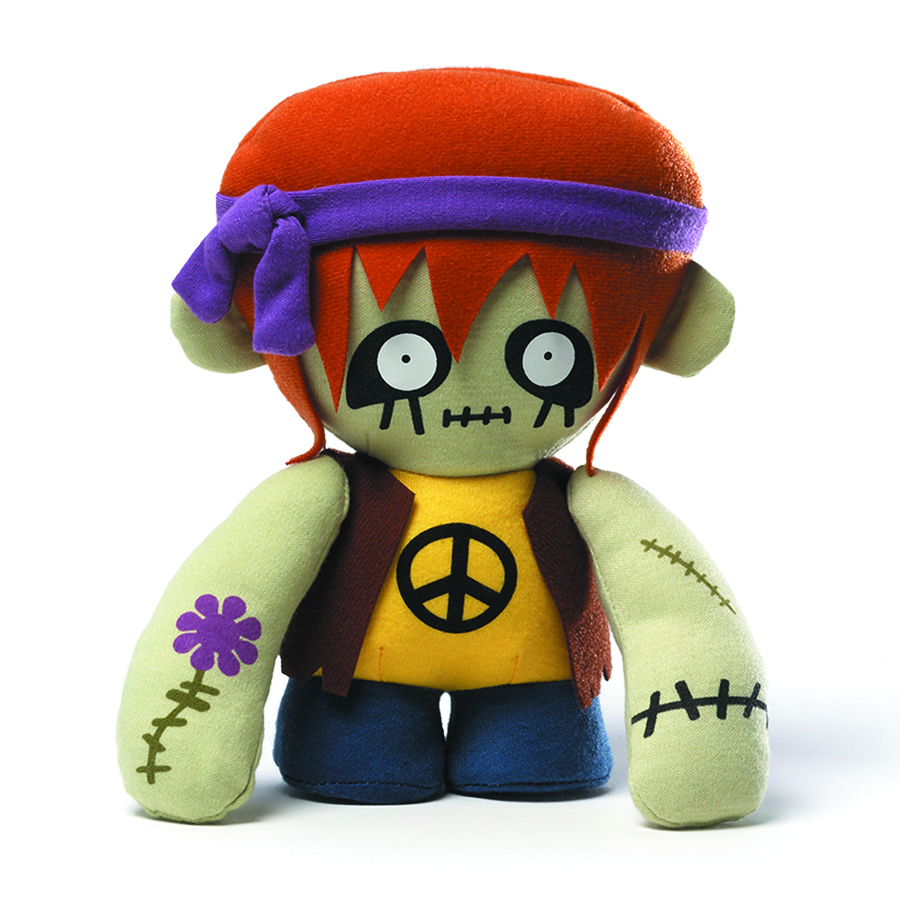 GROOVY ZOMBIE 8-IN PLUSH
