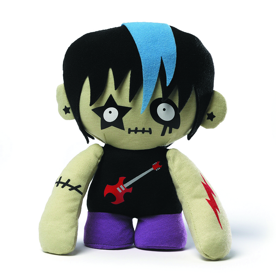 SKATEBOARDER ZOMBIE 8-IN PLUSH