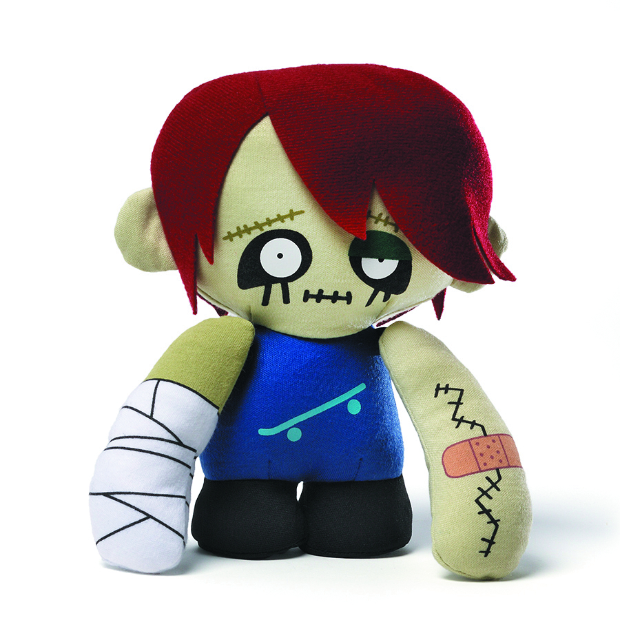 ROCK STAR ZOMBIE 8-IN PLUSH