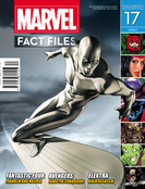 MARVEL FACT FILES #17 SILVER SURFER COVER