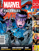 MARVEL FACT FILES #20 SENTINELS COVER