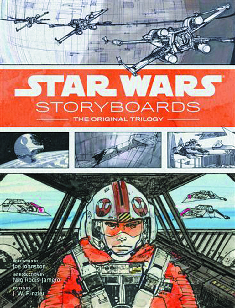 STAR WARS STORYBOARDS ORIGINAL TRILOGY HC