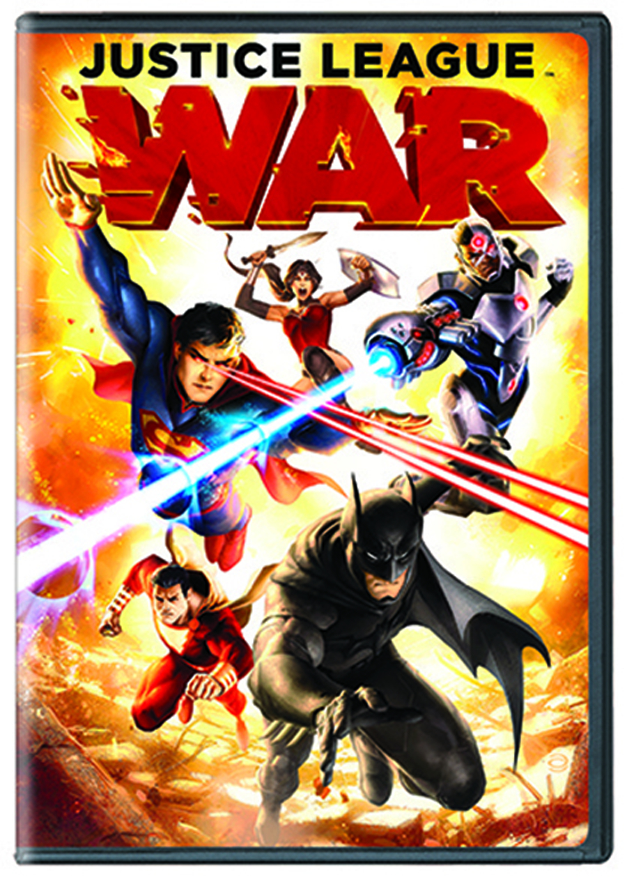 DCU JUSTICE LEAGUE WAR DVD