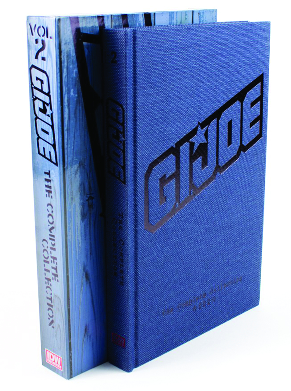 GI JOE COMPLETE COLL HC VOL 02 RED LABEL ED