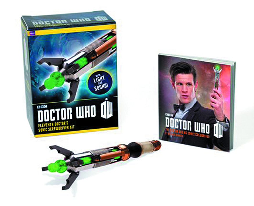 DOCTOR WHO 11TH DOCTOR SONIC SCREWDRIVER BOOK KIT