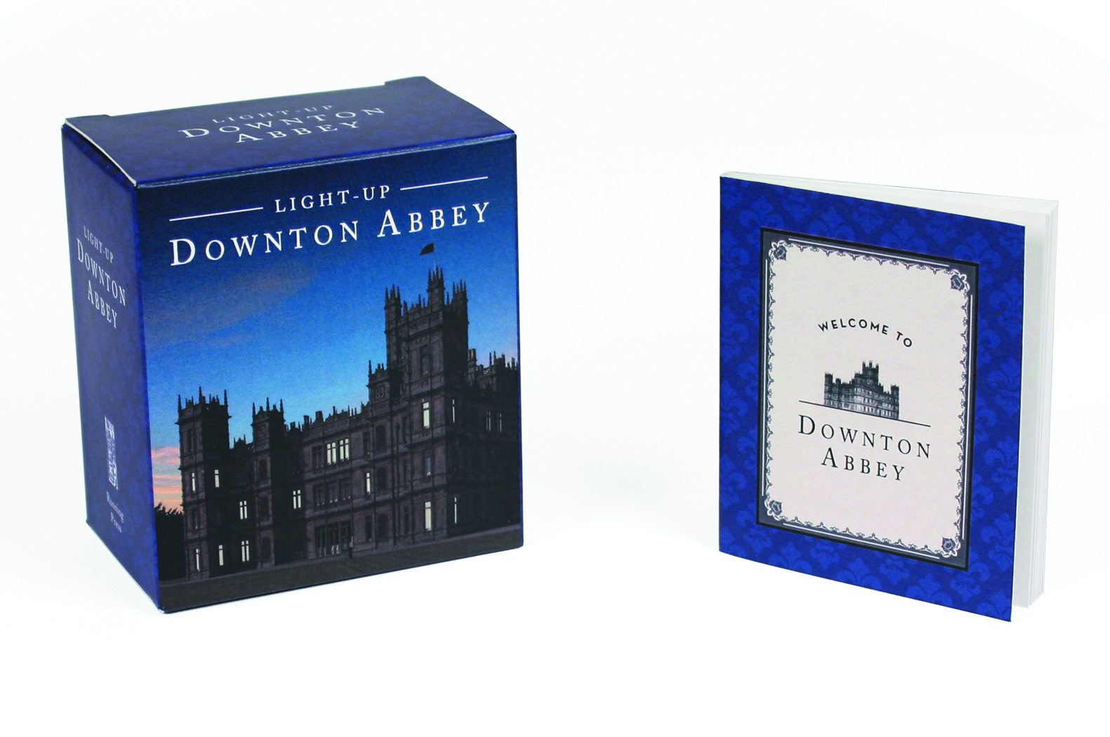 DOWNTON ABBEY LIGHT UP MINIATURE BOOK KIT