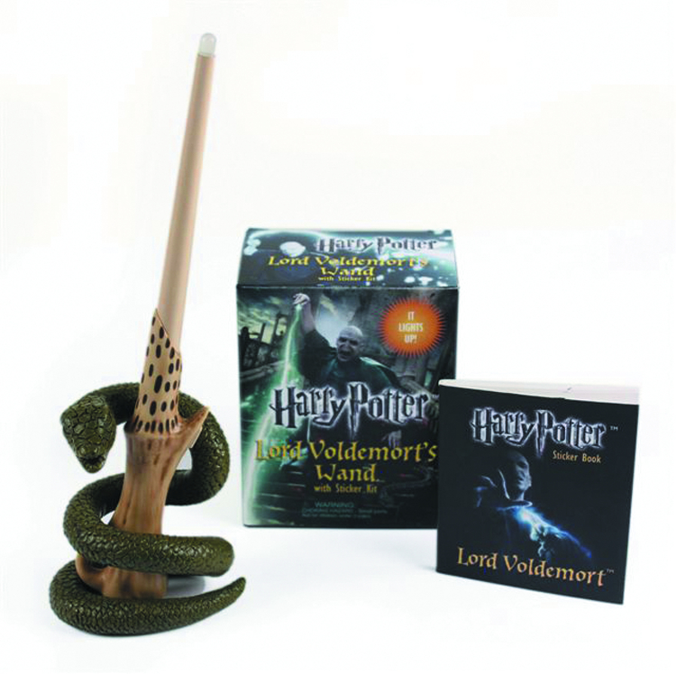 HARRY POTTER VOLDEMORT WAND W/ STICKER KIT