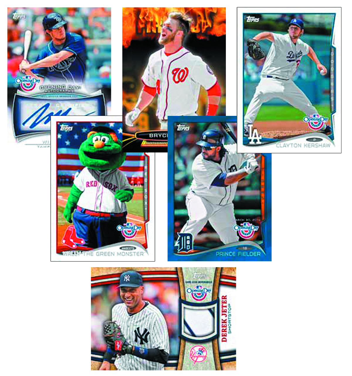 TOPPS 2014 OPENING DAY BASEBALL T/C BOX