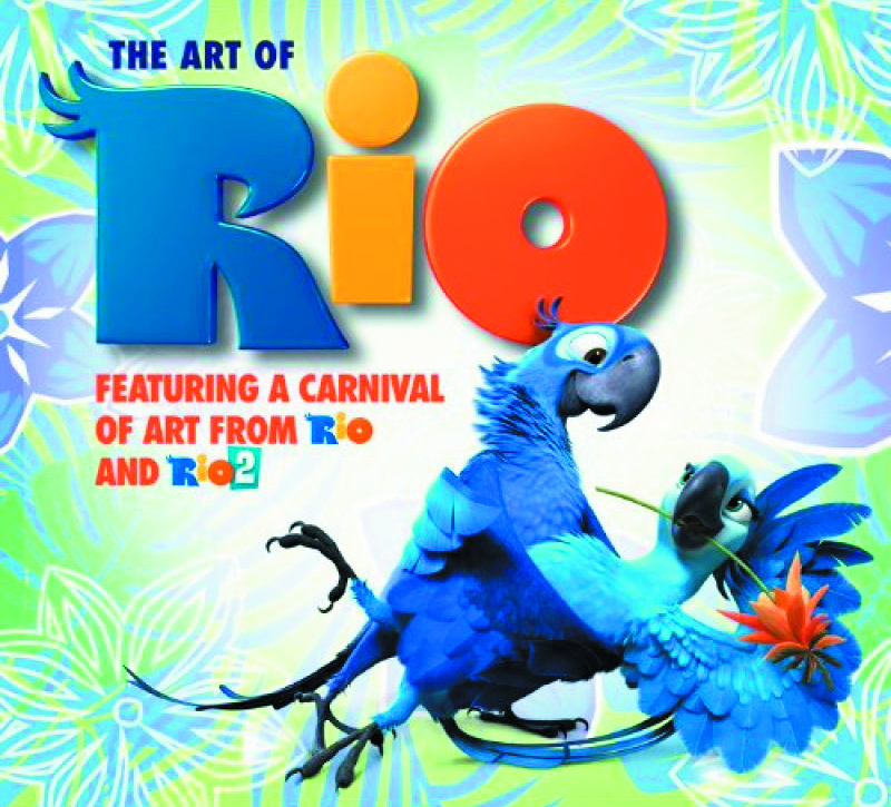 ART OF RIO CARNIVAL OF ART FROM RIO & RIO 2 HC