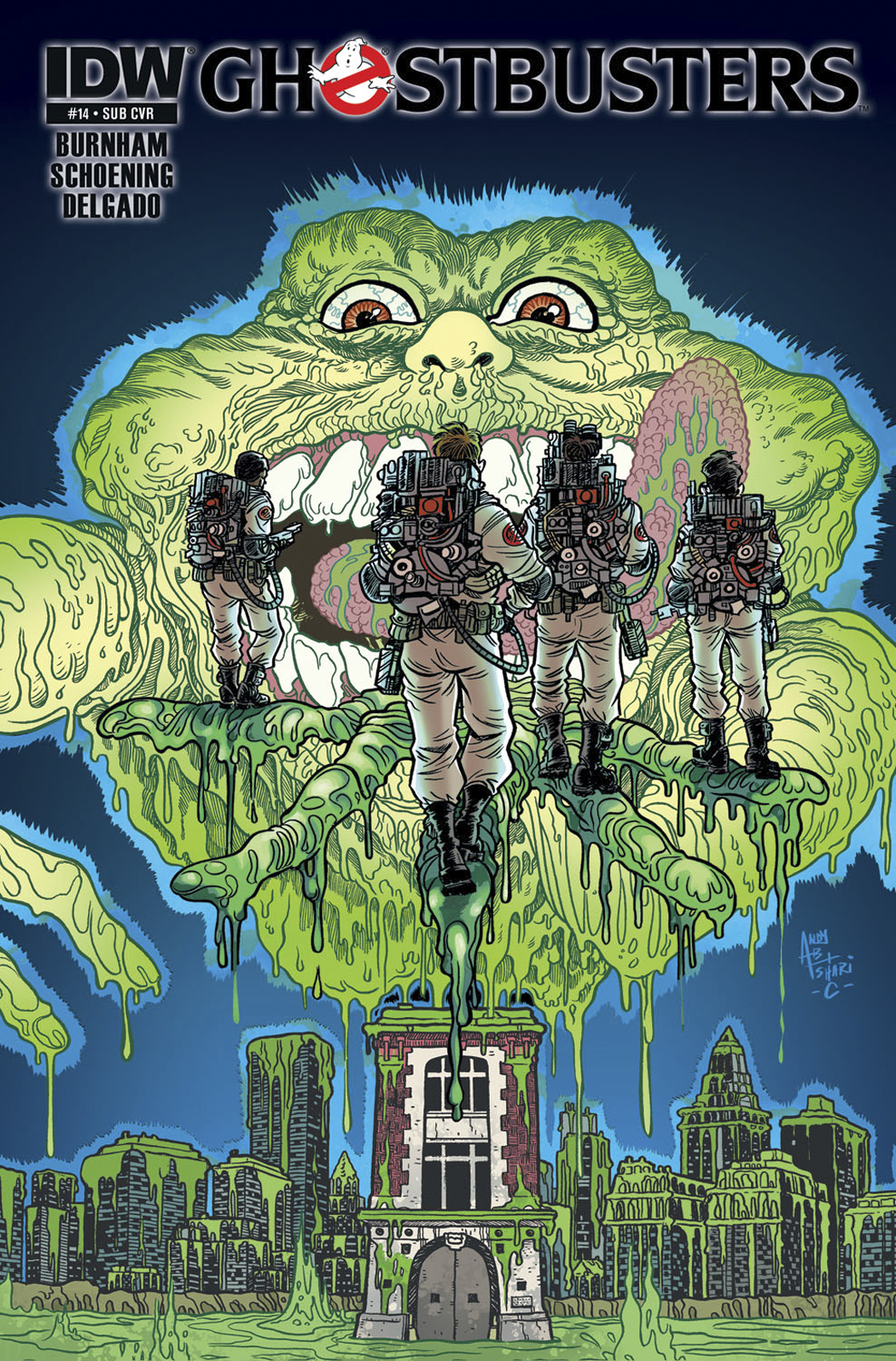 GHOSTBUSTERS #14 SUBSCRIPTION VAR