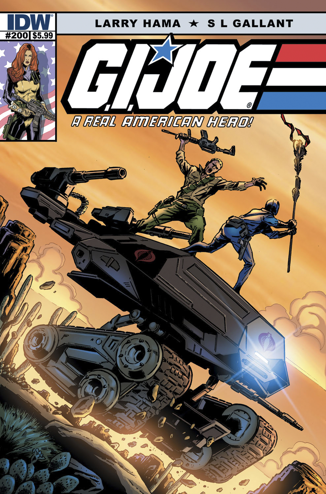 GI JOE A REAL AMERICAN HERO #200