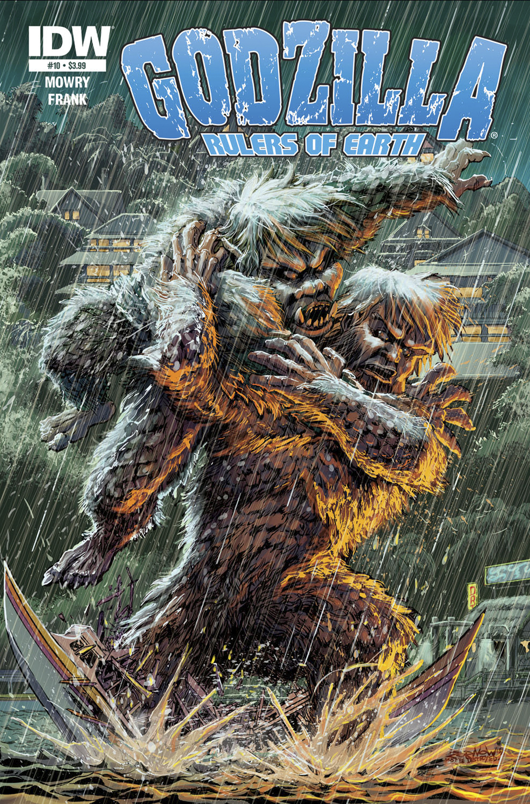 GODZILLA RULERS OF THE EARTH #10 FREE 10 COPY INCV