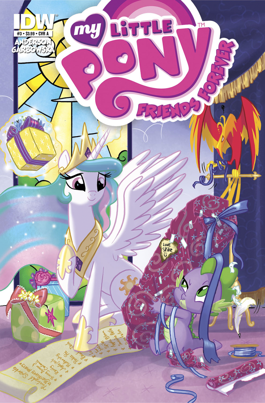 MY LITTLE PONY FRIENDS FOREVER #3 SUBSCRIPTION VAR