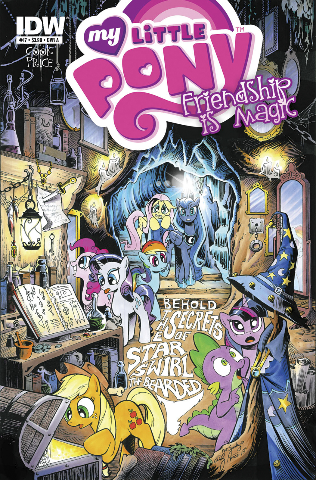 MY LITTLE PONY FRIENDSHIP IS MAGIC #17