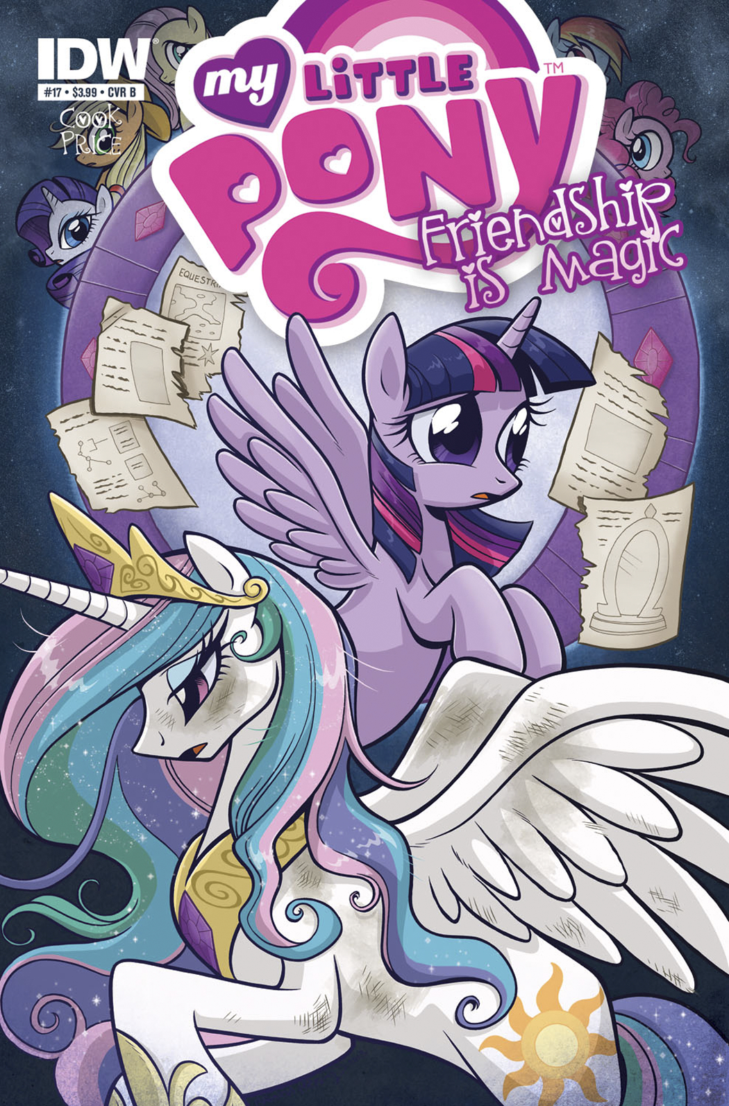 MY LITTLE PONY FRIENDSHIP IS MAGIC #17 FREE 10 COPY INCV