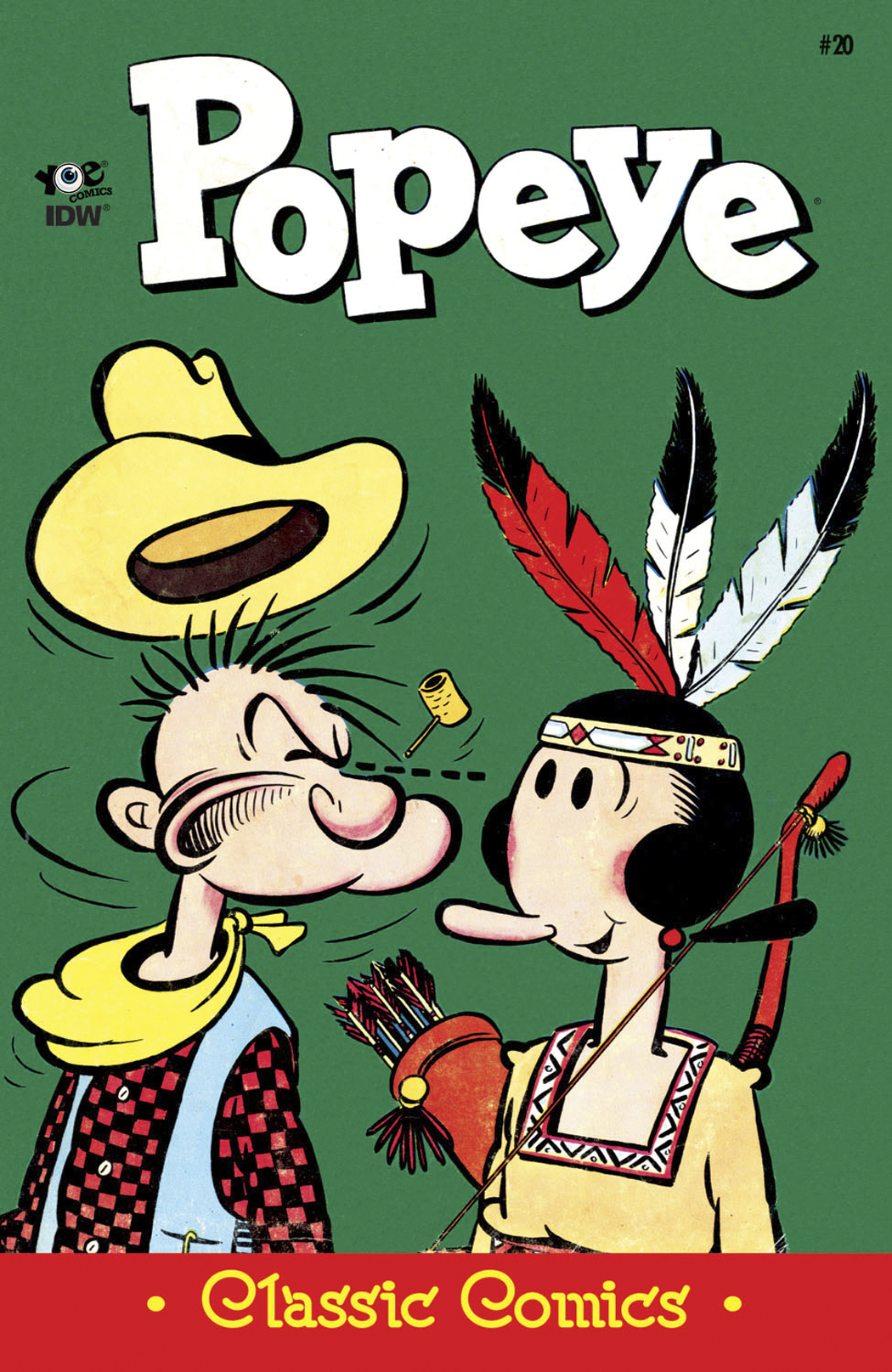 POPEYE CLASSICS ONGOING #20