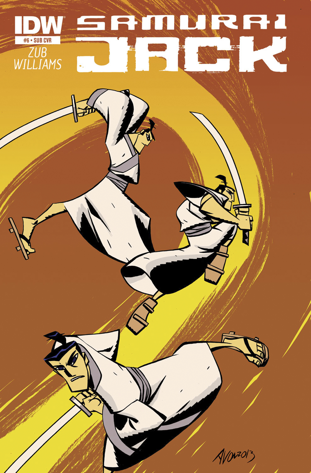 SAMURAI JACK #6 SUBSCRIPTION VAR