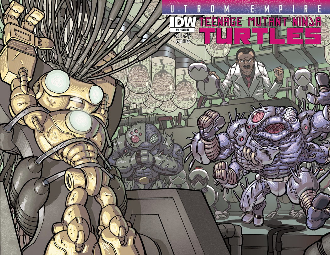 TMNT UTROM EMPIRE #3