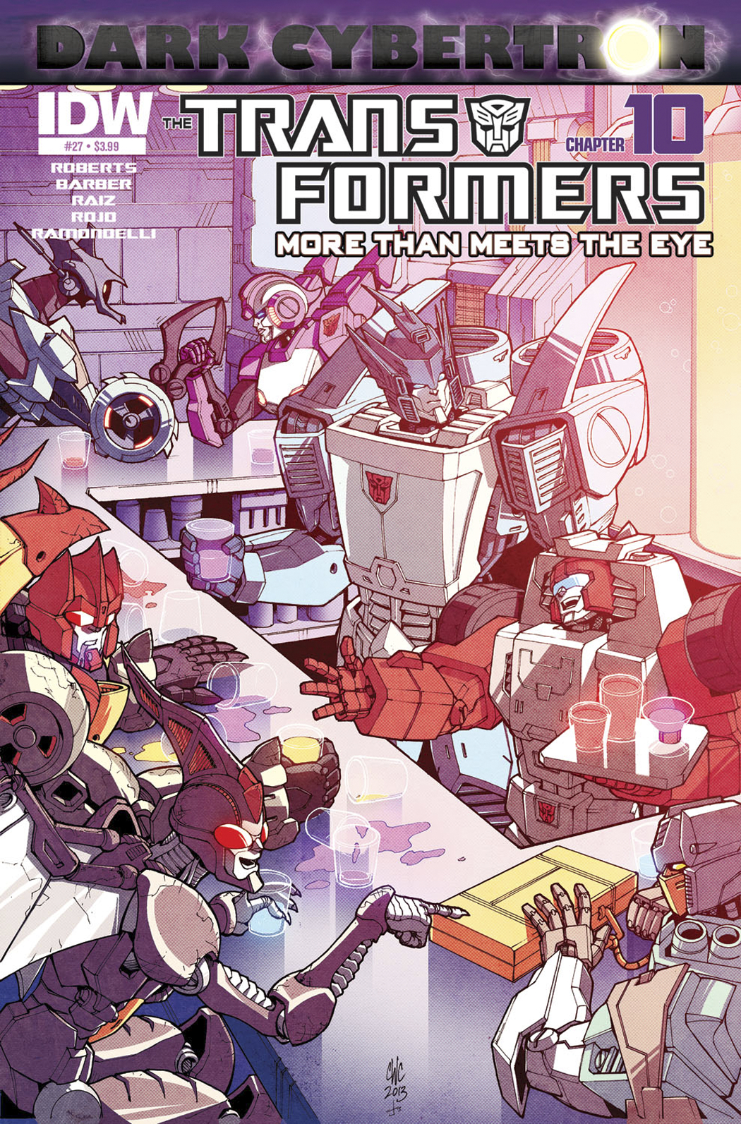 TRANSFORMERS MORE THAN MEETS EYE #27 DARK CYBERTRON PART 10