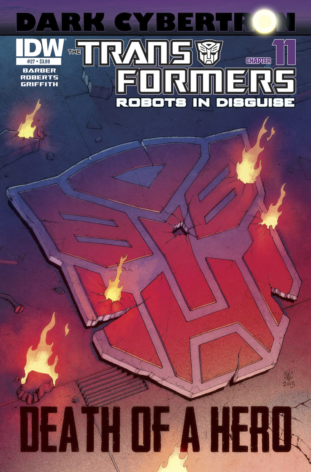 TRANSFORMERS ROBOTS IN DISGUISE #27 DARK CYBERTRON PART 11