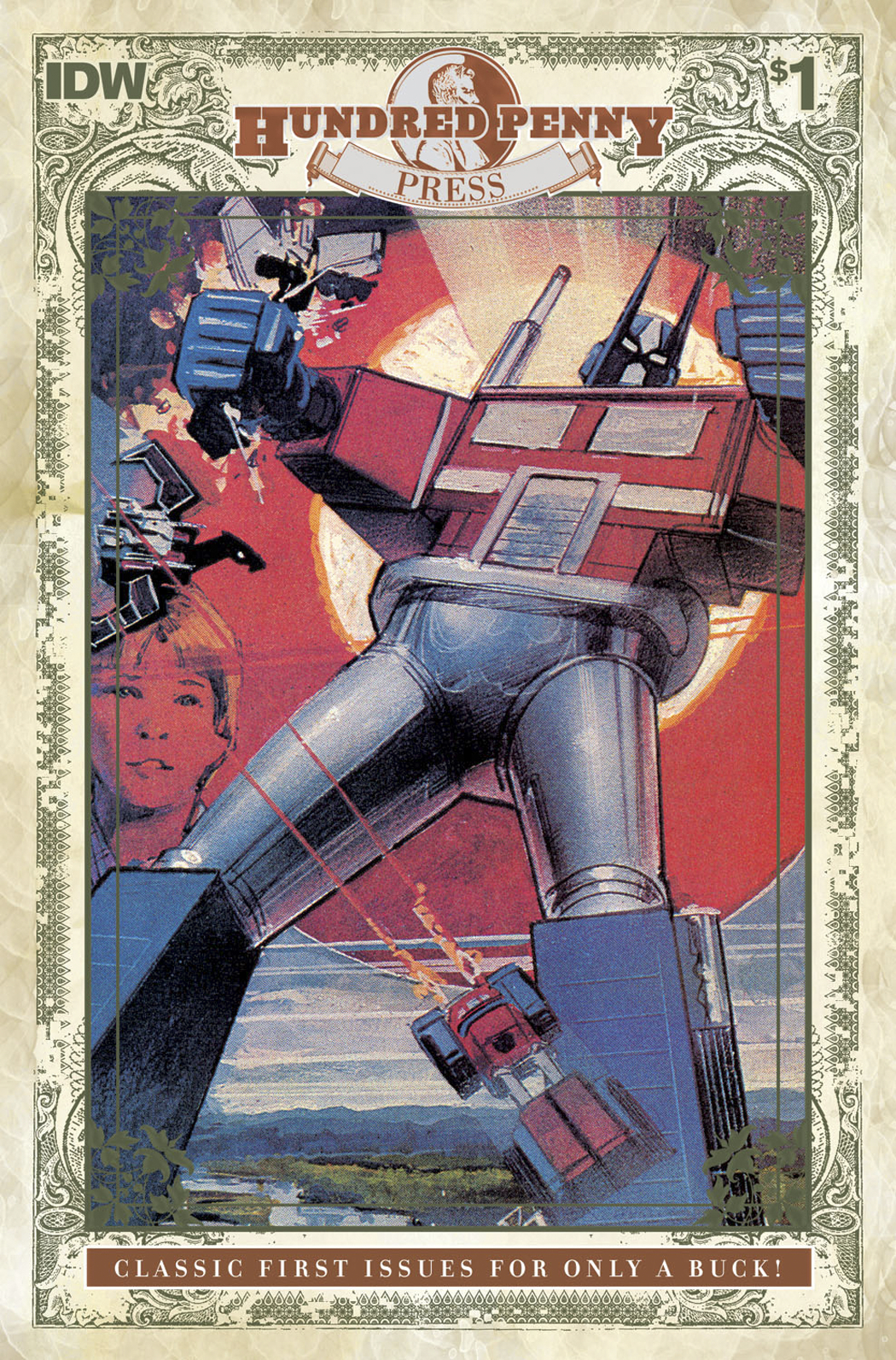 TRANSFORMERS 1984 #1 100 PENNY PRESS ED