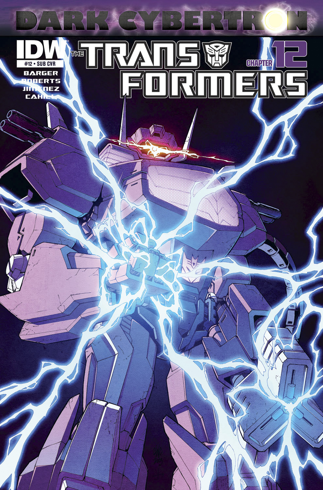 TRANSFORMERS DARK CYBERTRON FINALE #1 SUBSCRIPTION VAR